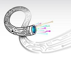Câble de circuit abstrait