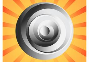 Logo du cercle abstrait