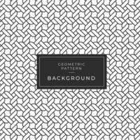 Modèle de corde monochrome géométrique abstrait