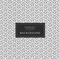 Motif abstrait monochrome géométrique de formes imbriquées