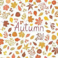 Motif feuilles d'automne