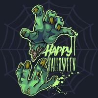 Zombie Hands Halloween vecteur