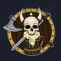 Crâne et bière