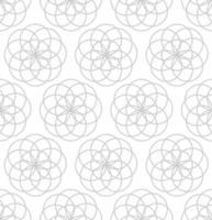 Chevauchement des cercles de fond sans couture