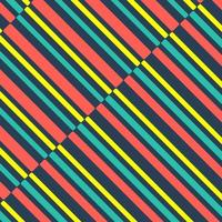 Arrière-plan de lignes de couleur vintage
