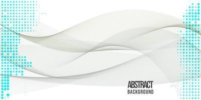 Design de fond des vagues abstraites