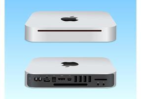 Mac Mini Illustration Vectorisée vecteur