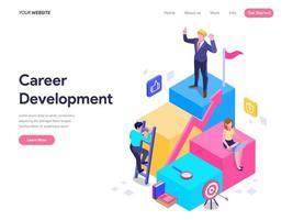 Concept de développement de carrière.