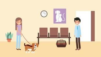 animal de compagnie et vétérinaire