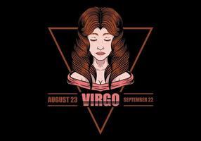 Signe du zodiaque vierge