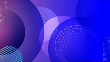 Bannière circulaire transparente vecteur