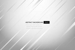 abstrait blanc et gris élégant, modèle brillant et lisse. vecteur