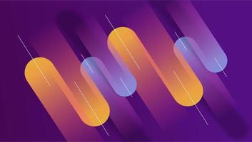 abstrait géométrique coloré vecteur minimal