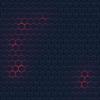Abstrait avec motif hexagonal vecteur