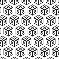 Vecteur abstrait géométrique sans soudure moderne