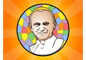 Pape Jean-Paul II vecteur