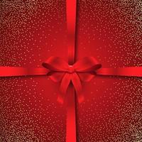 Fond de ruban de Noël scintillant