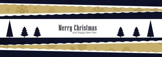 Joyeux Noël cartes de voeux pour le vecteur de conception de bannière