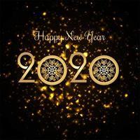 Fond de style traditionnel 2020 nouvel an
