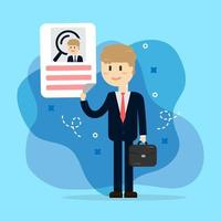 Entretien des ressources humaines. recrutement