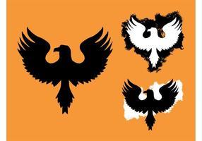 Eagle graphics logo vecteur
