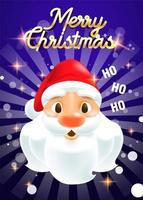 fond de noël père Noël