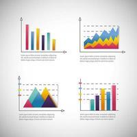 diagramme d'entreprise infographique avec stratégie d'information