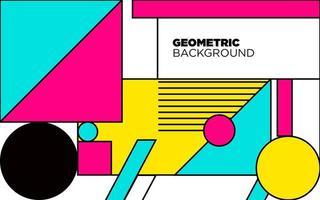fond abstrait géométrique coloré