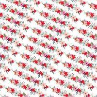 Motif floral diagonal