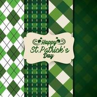 Ensemble de fond de St Patrick