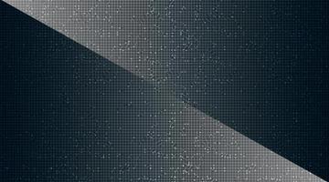 Microchip sombre sur fond de technologie. vecteur