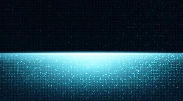 Fond de technologie légère avec espace libre pour le texte