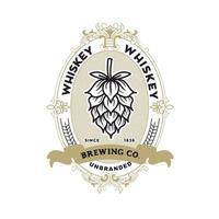 modèle de conception d'étiquette de whisky vecteur