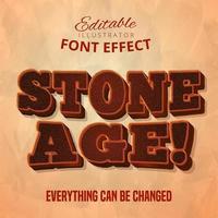 Texte de l'âge de pierre