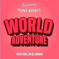 Texte de l'aventure mondiale