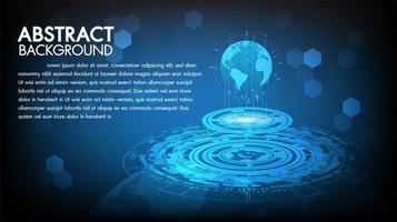 Fond de technologie abstraite vecteur