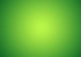 Dégradé vert avec fond de demi-teintes vecteur
