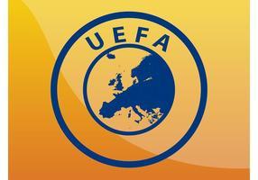 Logo de l'UEFA vecteur