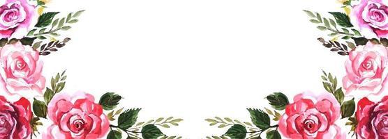 Fond de fleurs élégantes