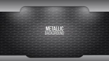 Plaques en acier en aluminium de texture de fond en métal vecteur