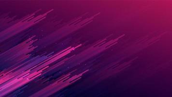 Abstrait dégradé rose violet rayures sur fond violet vecteur