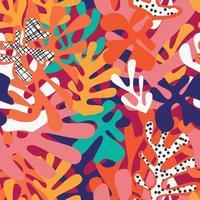 Matisse inspiré des formes design coloré vecteur