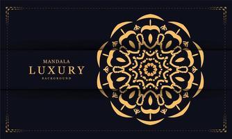 Fond de mandala décoratif de luxe