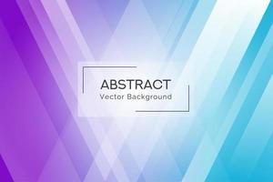 Fond de formes abstraites de rayons bleu et violet vecteur