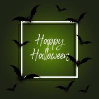 Fond d'Halloween avec des chauves-souris vecteur
