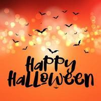 Joyeux fond d'Halloween vecteur