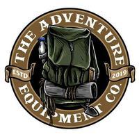 badge sac de randonnée vecteur
