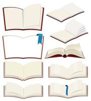 Ensemble de livre blanc