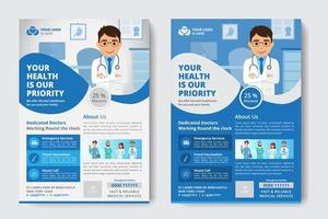 Modèle de Flyer de médical