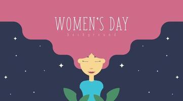 Illustration de fond de la journée de la femme du 8 mars